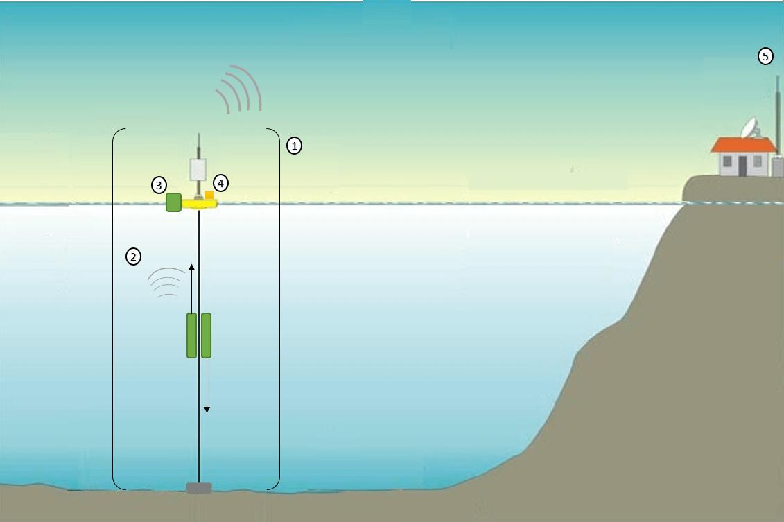 Desarrollo de instrumentos para monitoreo en  ambientes marinos apoyado en nuevas tecnologías / Mizquez Corona, Luis A.